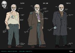 Detective Apparel Variants