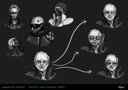 Detective Head Concepts