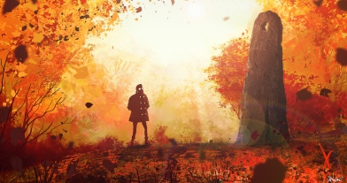 Autumn Cairn